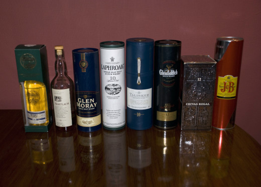 A wide selection of Scotch Whisky.