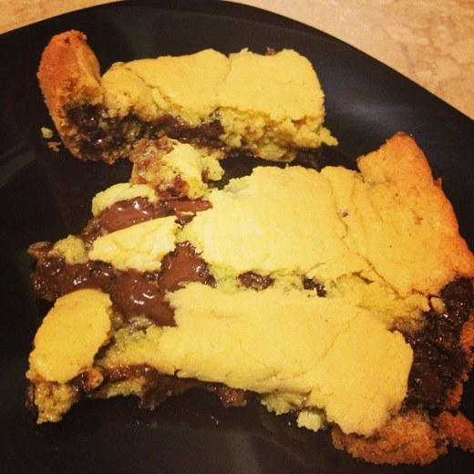 Chocolate Chip Cookie Bars - All Rights Reserved - Do Not Distribute -