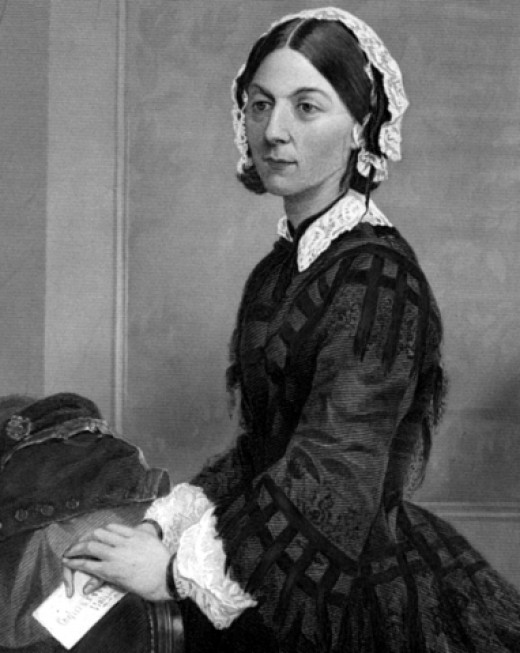 """Florence Nightingale. From """"Portrait Gallery of Eminent Men and Women in Europe and America"""", New York: Johnson, Wilson & Company, 1873."""