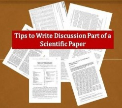 Tips to Write Discussion Part of a Scientific Paper