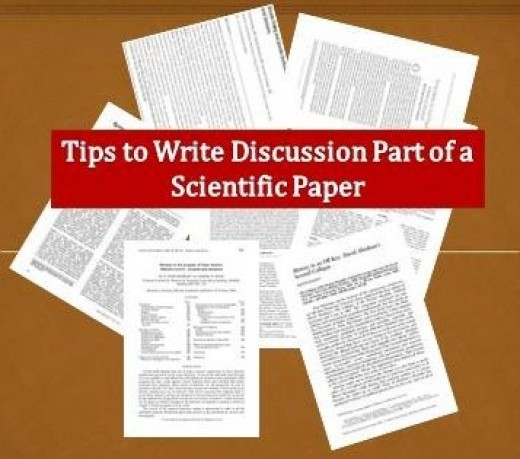 how to write the discussion section of a science report