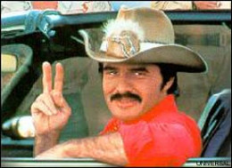Burt Reynolds is Handsome in Motion in his Action Films.