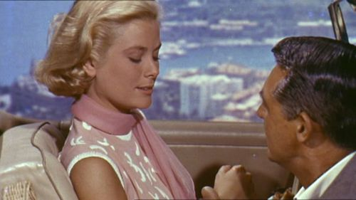Grace Kelly, the icy, unapproachable blonde.