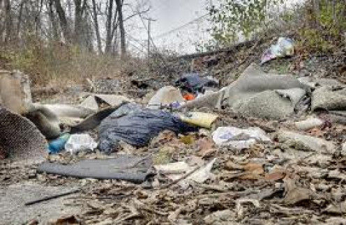 Another picture of a horrifying looking garbage dump.