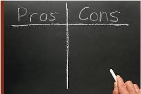 Their are many pros and cons to running a small  Business. Weigh out all options before making rash decisions.,