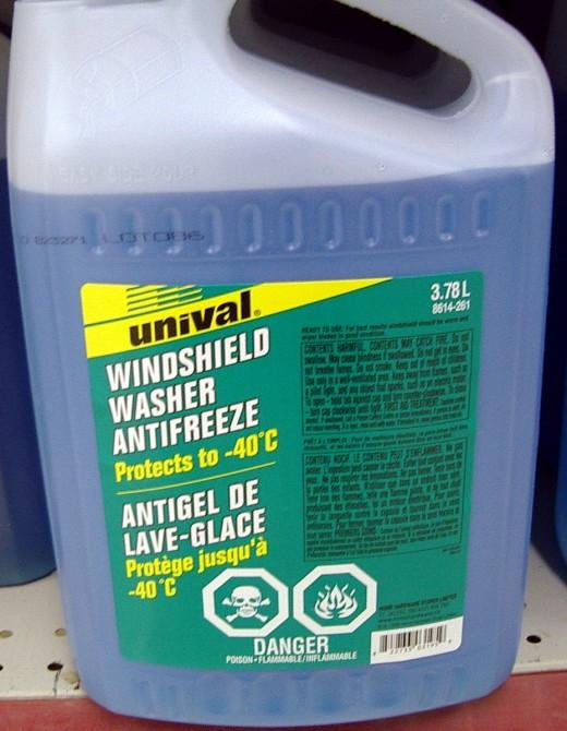 Windscreen washer fluid that will still work   at -40C  (-40 Fahrenheit)