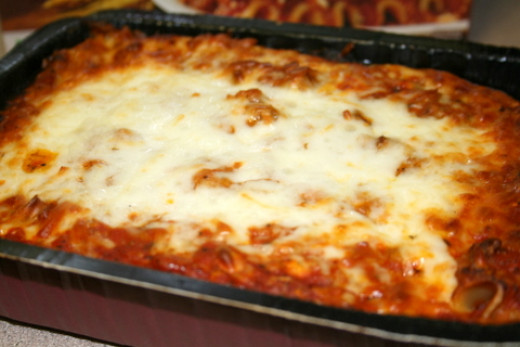 The Best Three Meat Lasagna Ever
