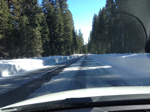Driving at 5000 ft in the shade of trees can mean the difference between a clear road and a road deemed impassable due to ice.