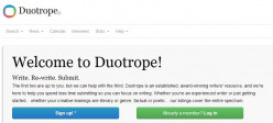 The overhaul of Duotrope = the end of writing scopes?