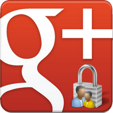 Send a private message in Google+