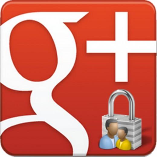 Send a private message in Google+