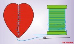 Ways to mend the broken heart