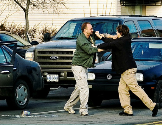 Road rage is probably the most stupid and worst possible reason to get seriously injured or even killed.