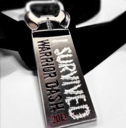 2013 Warrior Dash Medal