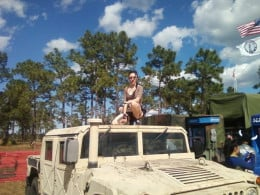 National Guard Photo Op...