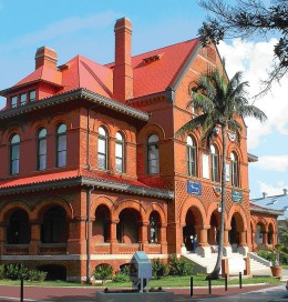 Key West Museum of Art and History formerly used as a customs house.