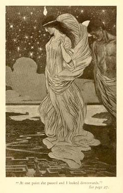 An illustration from Ayesha, another Haggard tale which influenced Tolkien's Middle Earth.