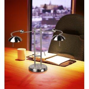 Double Swing Arm Desk Lamp