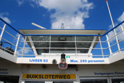 Ferries run constantly from Centraal Station to Amsterdam Noord.