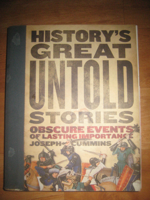 The Cover of History's Great Untold Stories (Photo Source: Ireno Alcala)
