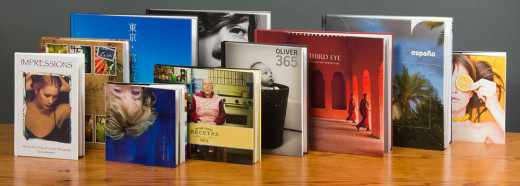 A wide variety of fully customizable print books is available.