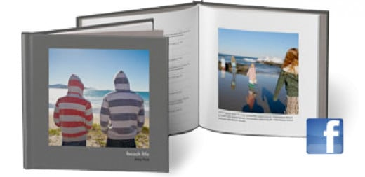 A Facebook photo book is also an option.