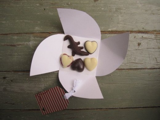 Have a try at making your own chocolates and packaging.