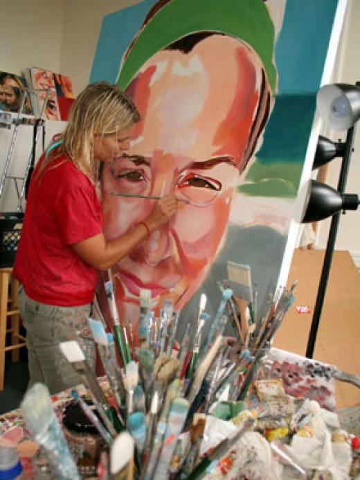 Letty Nowak at Studio