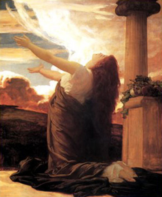 Clytie by Frederic, Lord Leighton