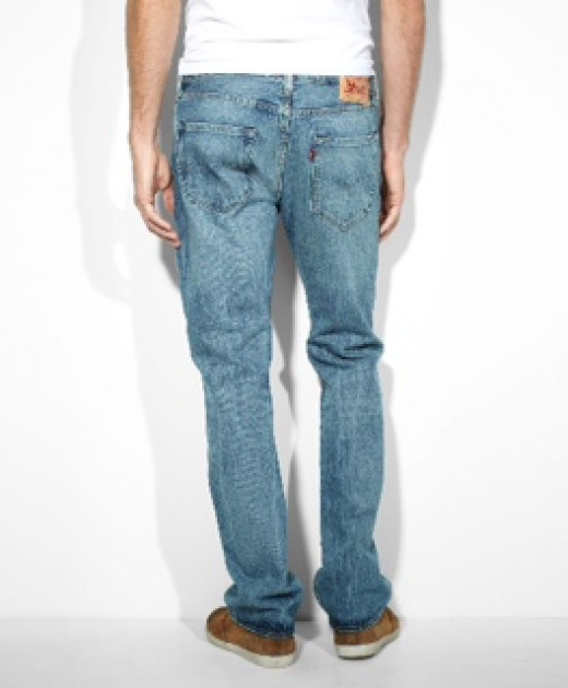 Levi's 501 Original Button Fly Jeans.