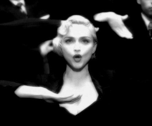 Madonna just spit 'em out one right after another.