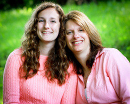 A mother-daughter bond that has grown closer and closer.