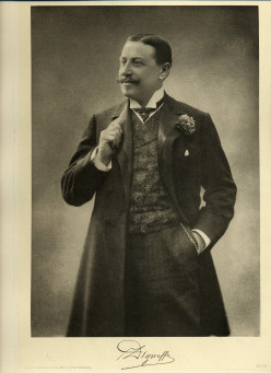 Emile Digneffe in about 1900, in: G. Deltour, Belgium Today, Berlin-Charlottenburg: Adolf Eckstein, c. 1908