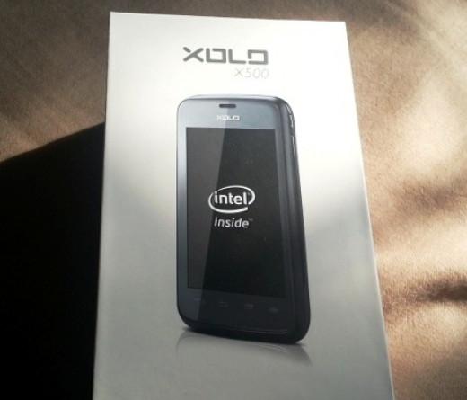 Xolo X500 Box