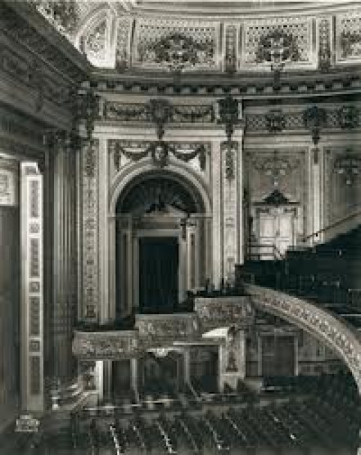 Interior of Pantages Theatre, Vancouver.