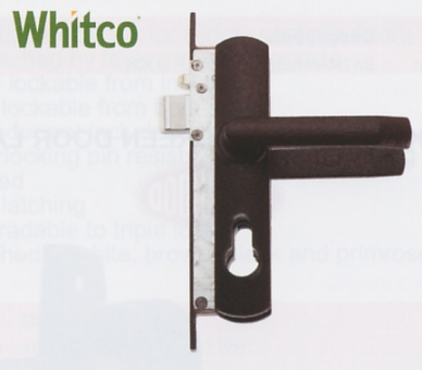 Swinging Security Screen Door Lock