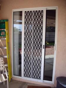 Sliding Security Screen Door