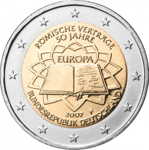 A German Euro Coin