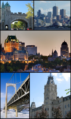 Quebec City For Winter Getaways Valentine's Day or Carnival