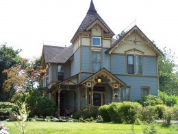 """One of the picture prompts for this fiction contest was this beautiful house ~ """"Billybuc Fiction Writing Contest: Lost Memories"""""""