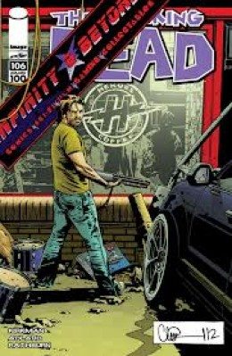 Issue #106 Charlie Adlard Infinity and Beyond Exclusive