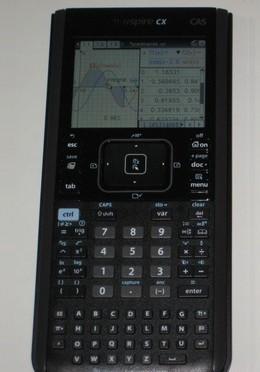 Texas Instruments Nspire CX CAS Graphing Calculator (Image via Amazon.com)