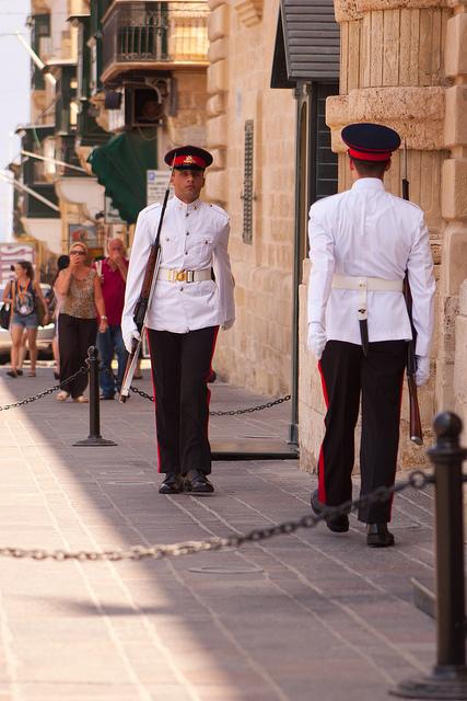 Keepign guard
