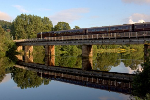 Stunning views of Scottish Highlands and loch makes this train one of the greatest rail journeys in the world