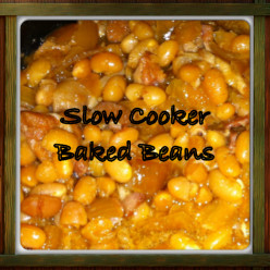 Baked Beans Crock Pot or Slow Cooker Recipe