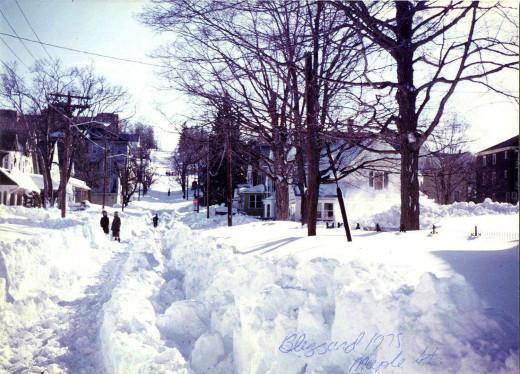 Blizzard of 1978, Rhode Island