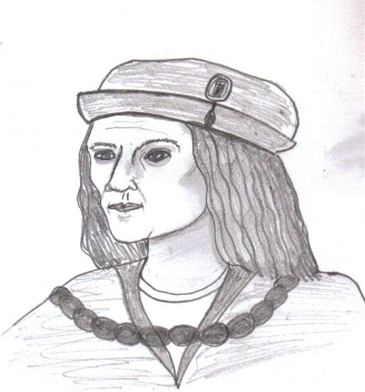 My sketch of Richard III