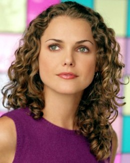 Keri Russell Long Curly Hairstyle