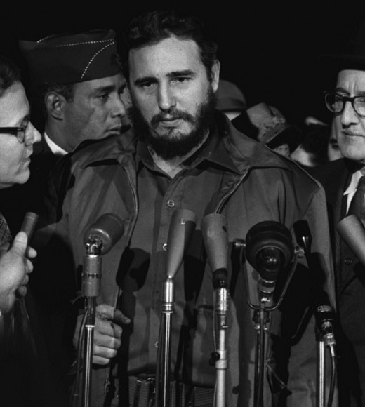 Fidel Castro: Famous communist and former leader of Cuba, who adopted a communist form of government when he took power, promoting income equality and state control of resources and major industries.