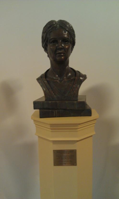 Bust of Rachel Caldwell by Michiel Van der Sommen.
